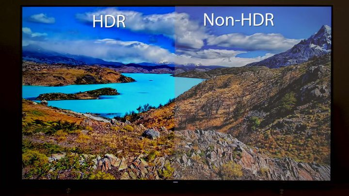HDR vs Non-HDR difference