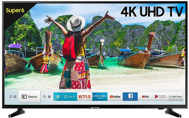 Samsung 4K UHD LED Smart TV 43 inches