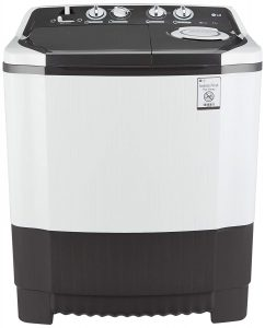 LG Semi Automatic Washing Machine 6.5 kg (P7550R3FA, Dark Grey)