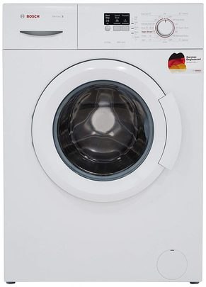 Bosch Front Load Washing Machine 6 kg Fully Automatic WAB16060IN, White, Inbuilt Heater