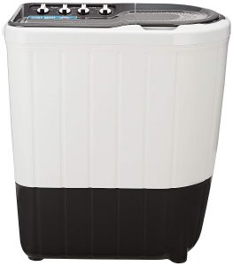 Whirlpool Semi Automatic Washing Machine 7 kg (Superb Atom 70S, Grey)