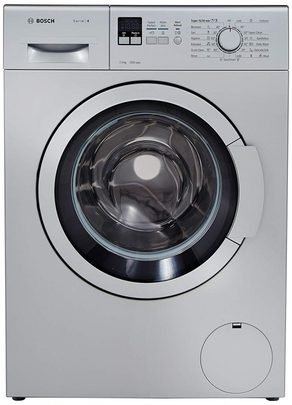 Bosch Front Load Washing Machine 7 kg Fully Automatic (WAK24168IN, Silver)