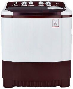 LG Semi Automatic Washing Machine 7.0 kg (P8053R3SA, Burgundy)