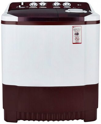 LG Semi Automatic Washing Machine 8.0 kg (P9042R3SM, Burgundy)