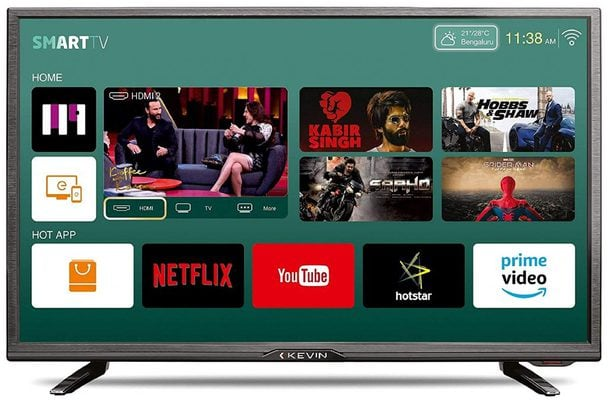 Kevin 32 Inches HD Ready Smart LED TV