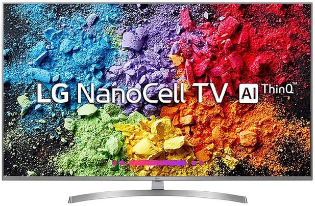 LG 123 cm (49 Inches) 4K Ultra HD Smart NanoCell TV 49UK7500PTA (Silver)
