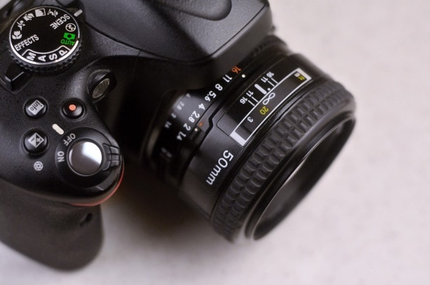 DSLR Camera Functions and Setting buttons