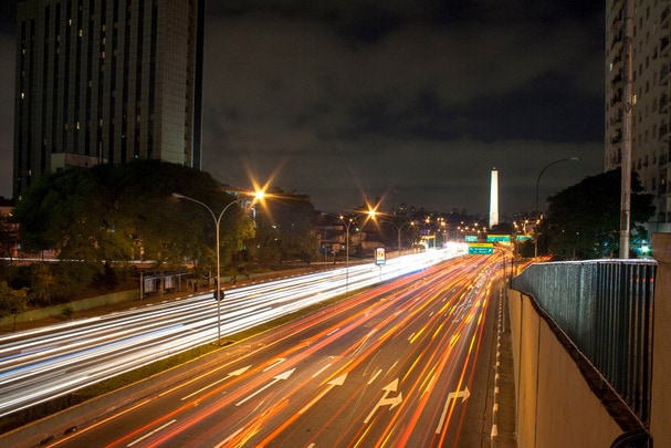 long shutter speed