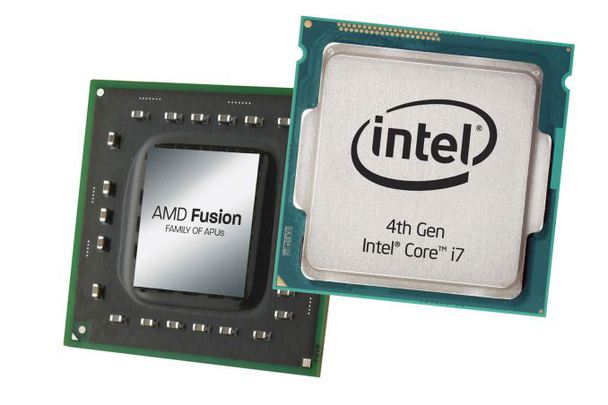 amd and intel processor