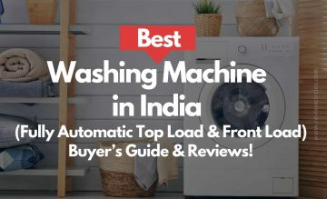 9 Best Washing Machine In India 2020 (Top & Front Load) | Fully Automatic – Buyer's Guide & Reviews!