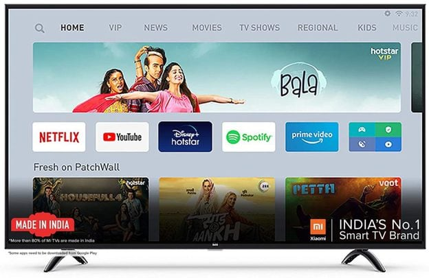 Mi 55 Inches Ultra HD Android Television