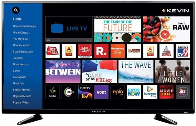 Kevin 43 Inches Full HD Smart LED TV