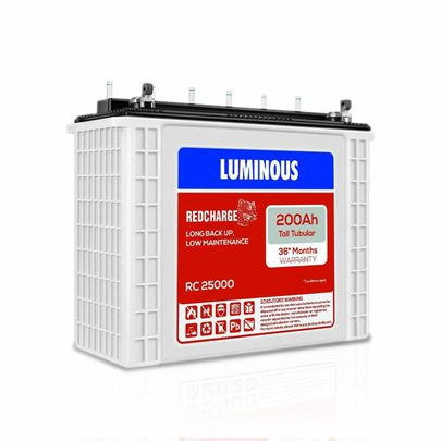 Luminous Red Charge RC 25000 200 Ah, Inverter Battery