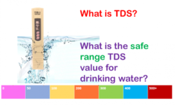 TDS Level in Drinking Water – Acceptable Levels | Explained!